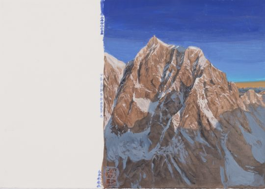 Mont Blanc, kvaš, 2014