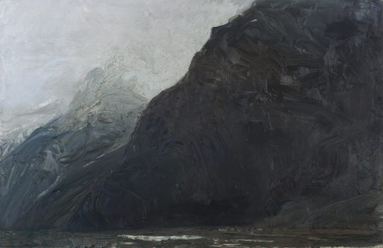 Engelswand, olej, plátno, 140 x 200 cm, 2015