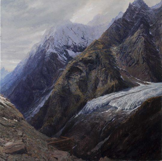 Petzeck - Taury, olej, plátno, 100 x 100 cm, 2015
