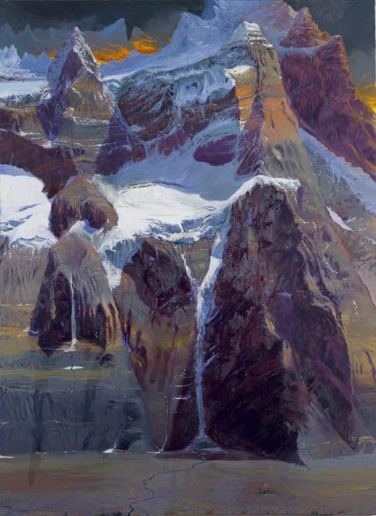 Aconcaqua, olej, plátno, 180 x 140 cm, 2014