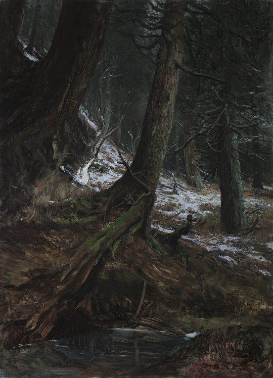 Šerák, olej, plátno, 135 x 95 cm, 2015 - 16