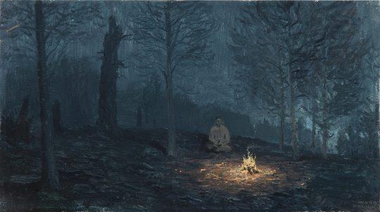 Úsvity a soumraky, olej, plátno, 20 x 30 cm, 2015