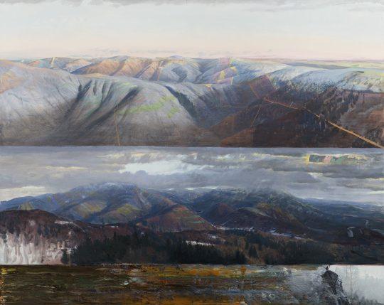 Klenby, 2018, olej na plátně, 160 × 200 cm