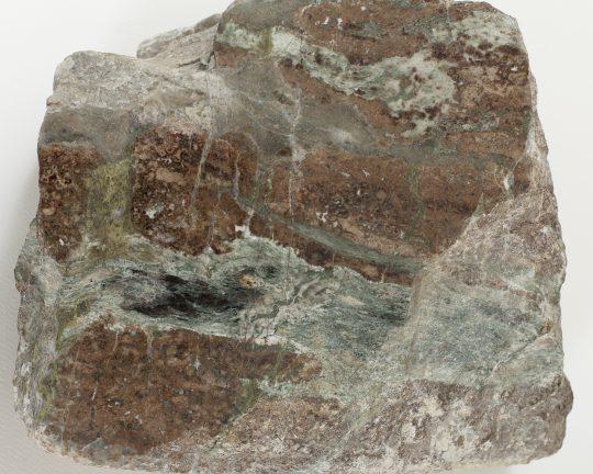 Erlan, Bludov, nábrus horniny.