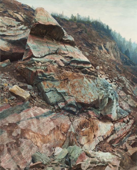 Erlany Bludov, 160x130cm, olej na plátně, 2018 x