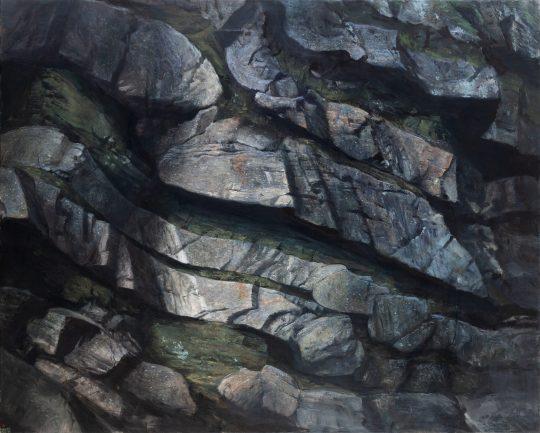 Bítešská ortorula, olej na plátně, 160x200cm, 2018